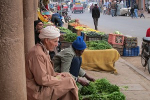 Marché de la rue Sidi Abderrahmane (Lksabt n tafoukt)