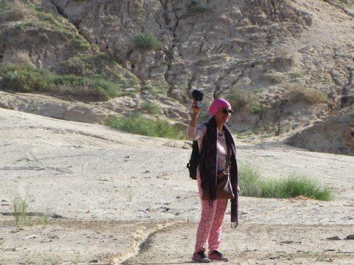 Noha Gamal dans la corbeille de Nefta